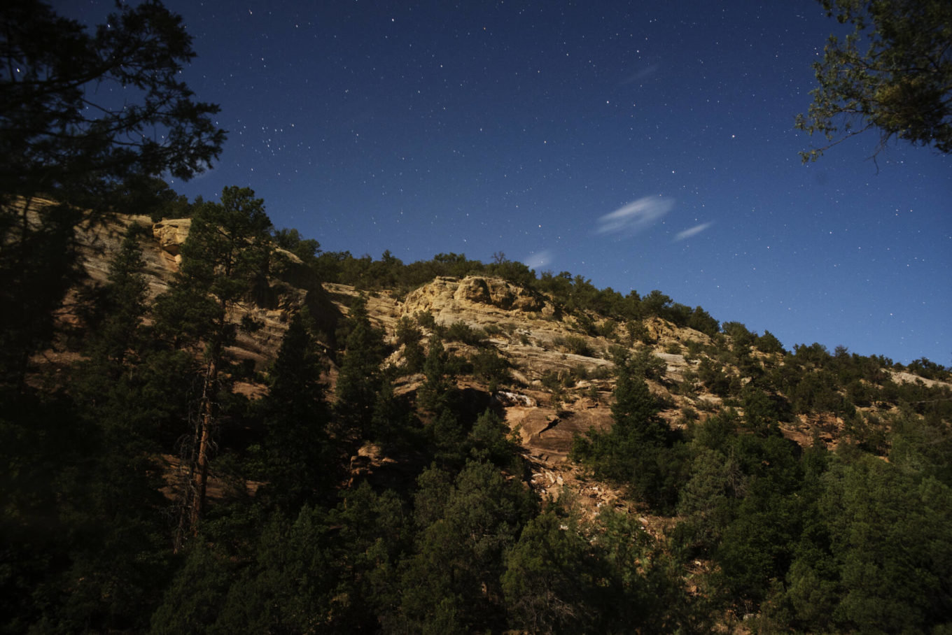 Scenic view during new mexico family vacations